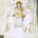 Ipogeo di Trebio Giusto. Particolari delle pareti laterali.