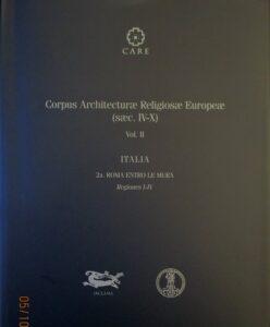 Italia 2a. Roma entro le mura. Regiones I-IV